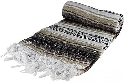 Coast2Coast Authentic Mexican Falsa Blanket (Tan)