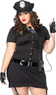 plus size womens inmate costume
