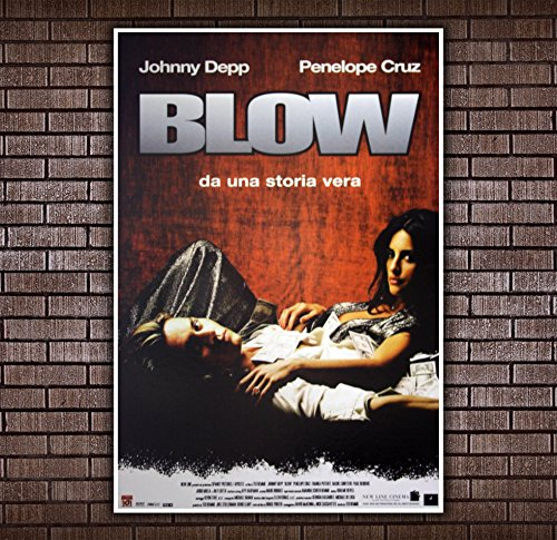 Movie Poster Blow - Johnny Depp - Size:70x100 CM