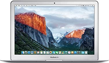 Apple MMGG2LL/A MacBook Air 13.3-Inch Laptop (1.6 GHz Intel Core i5, 8GB RAM, 256GB SSD, Mac OS X V10.11 El Capitan), Silver (Renewed)