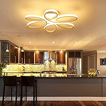 Houdes Modern Led Chandelier Lighting Ceiling Light Fixture