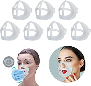 3D Stand Respirator Parts for Mask for Women Lipstick Protection for Summer for Running for adults fo kids(7PCS)