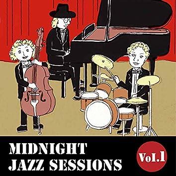Midnight Jazz Sessions, Vol. 1 (Smooth Jazz Music)