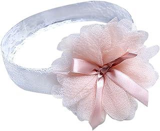 476a7e10 Cinta para la Cabeza de Encaje Diadema Bebés Niñas Bowknot Flores Princesa  Cintas de pelo Bautizo