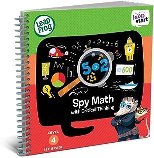 Leap Frog Leapstart 1st Grade Activity Book: Spy Math & Critical Thinking, 80- 21612