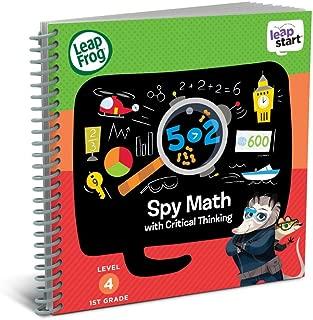 LeapFrog LeapStart 1st Grade Activity Book: Spy Math & Critical Thinking