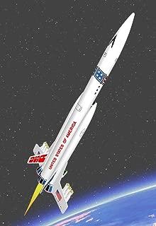 USS America Semroc Flying Model Rocket Kit KV-77