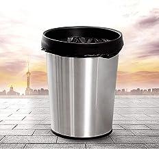 JXXDDQ Round Stainless Steel Wastepaper Kitchen Bin Waste Toilet Waste Containers