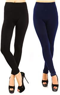 Mujer 2 pares Medias térmicas opacas Paño grueso y suave de invierno Pantimedias gruesas Cintura alta Pantalones cálidos Leggings sin pies sin pies