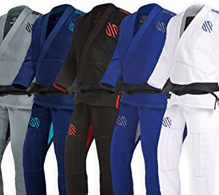 Sanabul Essentials V.2 Ultra Light Preshrunk BJJ Jiu Jitsu Gi (See Special Sizing Guide)