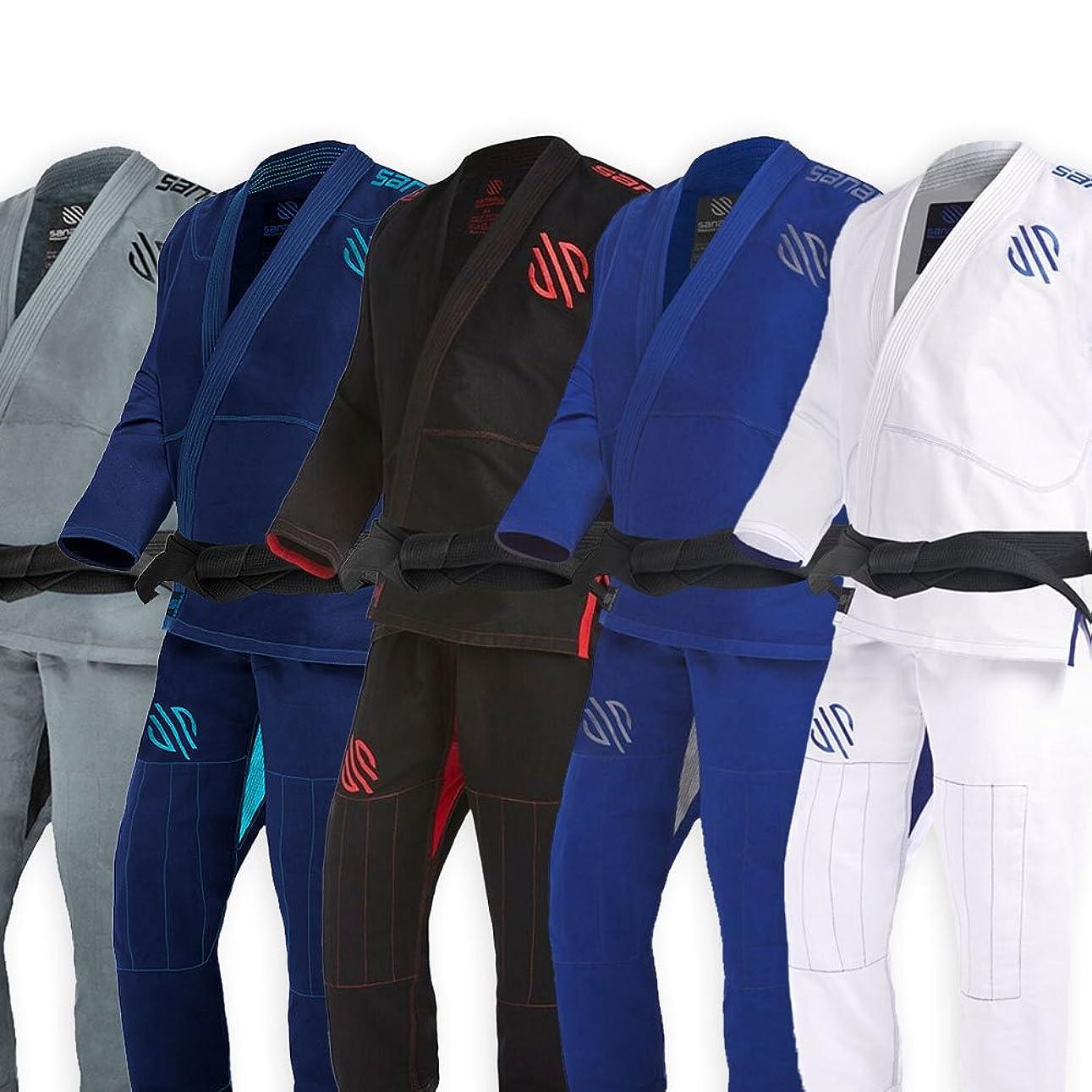 リベラル見習いたぶんSanabul Essentials v.2ウルトラライトBJJ Jiu Jitsu Gi with防縮加工ファブリック