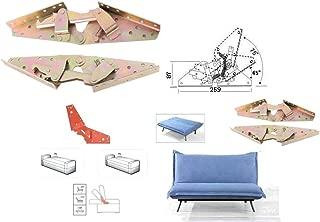 Sofa Bed Bedding DIY Home Furniture Adjustable 3-position Angle Mechanism Hinge Hardware Bronze
