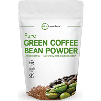 Amazon Com Bulksupplements Green Coffee Bean Powder 100 Grams Health Personal Care