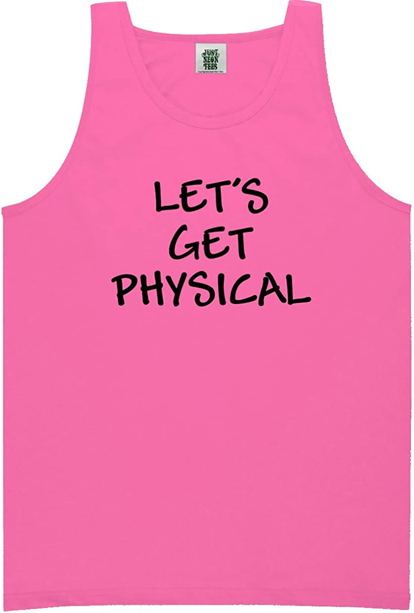 zerogravitee Let's Get Physical Bright Neon Tank Top - 6 Bright Colors