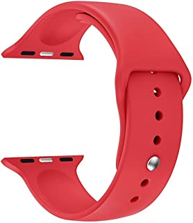 House of Quirk iWatch Band 42 mm Silicone Strap