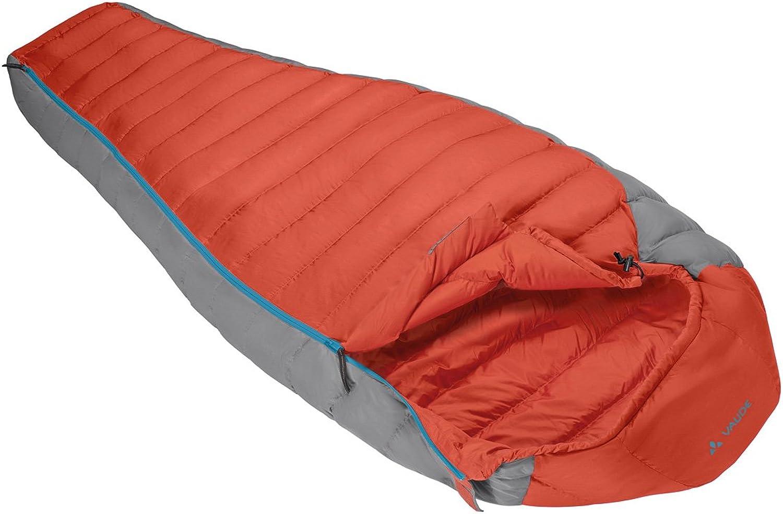 VAUDE Cheyenne 700, Down Sleeping Bag, 3 Seasons, Mummy Shape for Camping