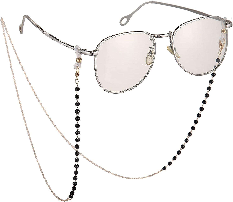 Jemooya Glasses Chain for Women Stylish Glasses Lanyard Mask Chain Sunglasses Strap Holder Glasses Cord Lanyard
