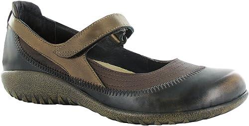 NAOT Footwear damen& 039;s Kirei Maryjane braun Shimmer Nubuck Volcanic braun Lthr Grecian Gold Lthr - 43 M EU  12-12.5 B (M) US