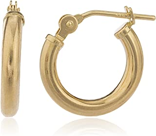 10k gold earrings hoops