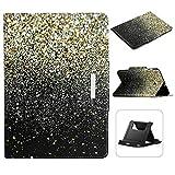 Shinyzone Coque pour Samsung Galaxy Tab A 9.7 T550 Or et Noir, Housse Étui avec Support...