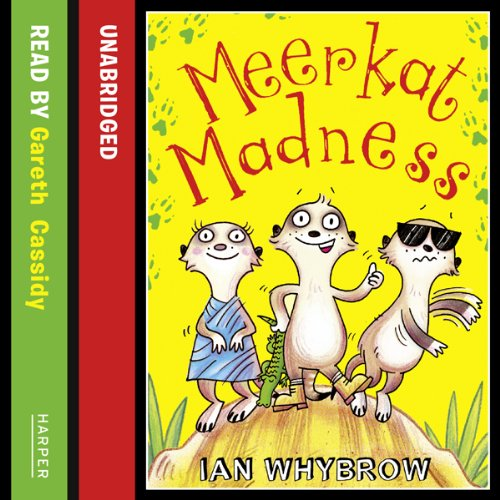 Meerkat Madness audiobook cover art