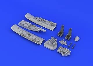 Set Of Resin Upgrade Parts For 1:72 Eduard Brassin Uti Mig 15 Cockpit