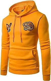 Hoodies for Men, FORUU Embroidery Hooded Sweatshirt Tops Jacket Coat Outwear