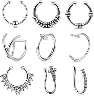 Amazon.es: piercing falsos: Joyería