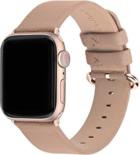 Fullmosa Compatible Apple Watch Band 38mm 40mm 41mm 42mm 44mm 45mm Leather Compatible iWatch Band/Strap Compatible Apple W...