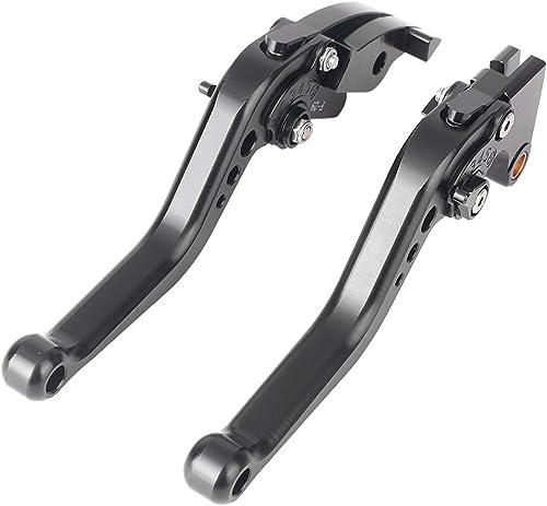 wholesale Mallofusa Black CNC Short Brake online sale Clutch Levers Pair for Honda 2003-2006 CBR600RR new arrival F5 / Honda 2002-2003 CBR954RR sale