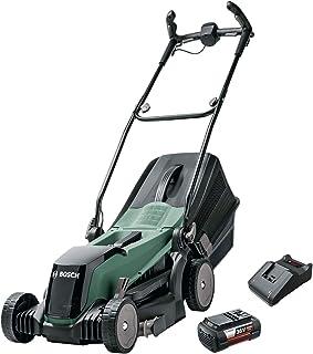 Bosch Cortacésped con Batería EasyRotak 36-550, 36 Volt, 1 Batería 4,0 Ah, Ancho de corte: 37 cm, Céspedes de hasta 550 m²...