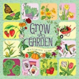 Grow a Garden Matching Game (Memory Matching Games for Adults and Toddlers, Matching Games for Kids, Preschool Memory Games)