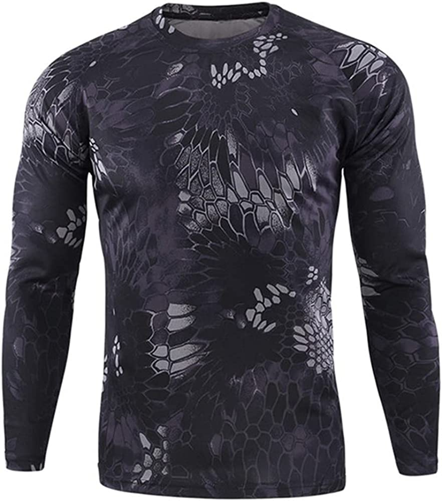 N\P Men's Quick Camo Outdoor Max 57% OFF Long Sleeve Product Shirts