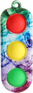 Likeonice Candy Color Fat Brain Toys Dimple Digits Baby Toys Dimple Toy Pressure Reliever Board Controller Educational Toy...
