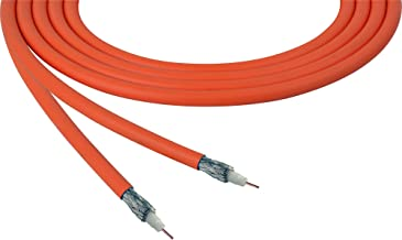 Belden 4855R 12G-Sdi 75 Ohm 4K Uhd Mini Coax Video Cable - Orange - Per Foot