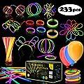 Multicolor Glow Sticks Bulk Party Pack - 248 Piece Light…