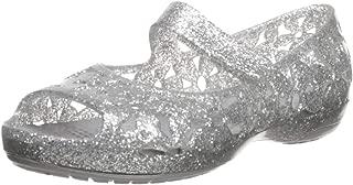 Crocs Kids' Girls Isabella Flower Ballet Flat Sandal