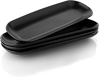 Sponsored Ad - Teocera Porcelain Serving Platter Set, Serving Plates - 15.5 Inches, Serving Trays for Appetizers, Dessert,...