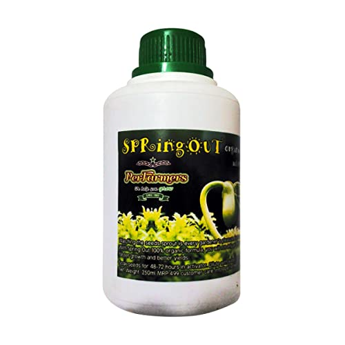 Perfarmers Seed Starter 250ml Organic Liquid for All Seeds Maximum Sprout