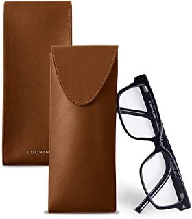 Lucrin - Case for glasses - Smooth Leather