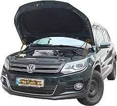 CTW Front Hood Bonnet Shock Absorber Strut Lift Damper x2 pc Installation Rod Kit Fit Volkswagen Tiguan I 2007-2015
