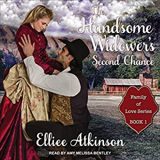 The Handsome Widower's Second Chance audiobook cover art