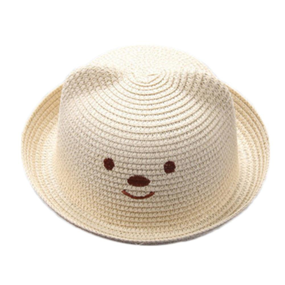 52cm Fashion Children Kids Boys Girls Jazz Felt Hat Unisex Caps Sunhat IN9
