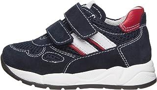 NeroGiardini E023830M Sneaker Kids Niño De Piel, Ante Y Tela