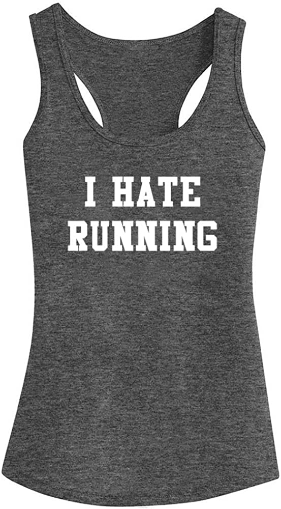 FANNOO Workout Tank Tops Limited time sale for Women-I Womens Hate Funny Limited time sale S Running