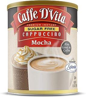Caffe D'Vita Sugar Free Mocha Cappuccino, 6 Pack, 85 oz cans