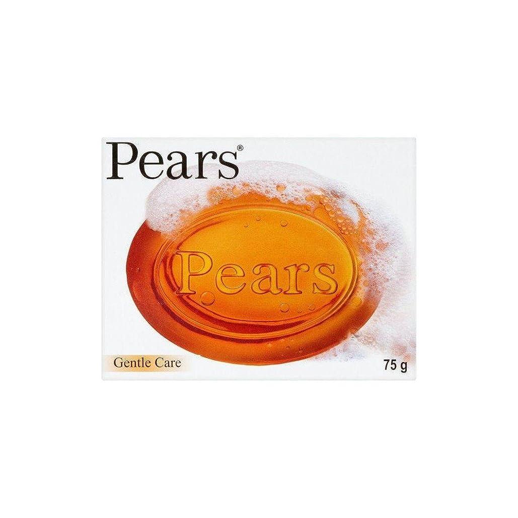 カウボーイ海ラベルPears Transparent Soap (75g) 梨透明石鹸( 75グラム) [並行輸入品]