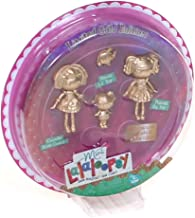 Lalaloopsy Mini Gold Edition 3 Pack: Crumbs Sugar Cookie, Peanut Big Top & Squirt Lil' Top