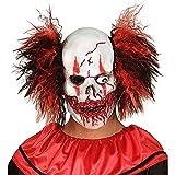 WIDMANN - Máscara para disfraz de adulto con diseño payaso sanguinario, talla única (1019)