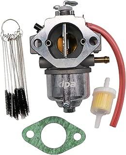 KIPA Carburetor for Kawasaki 15003-2296 John Deere AM122852 17Hp GS75 HD75 180 185 260 265 Mower Tractors M97274 M97275 with Fuel Filter Carbon Dirt Jet Cleaner Tool Kit